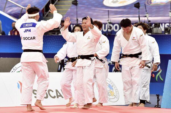 Дзюдоисты сборной Японии