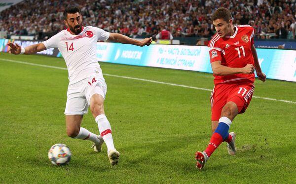 Футбол. Лига наций УЕФА. Матч Россия - Турция. Архивное фото