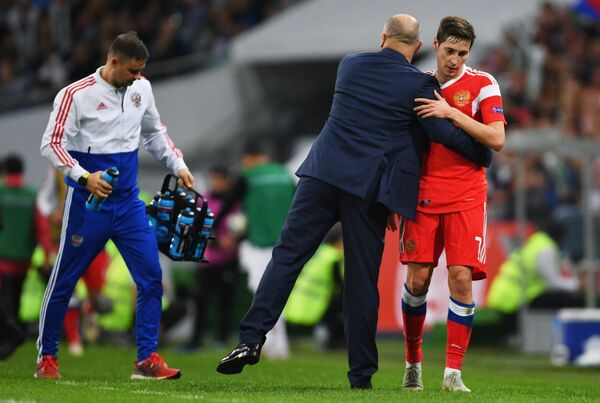 Футбол. Лига наций УЕФА. Матч Россия - Турция