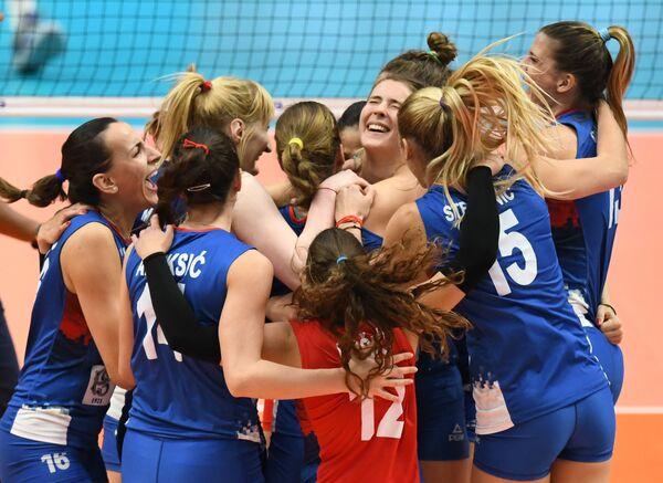 Волейболистки сборной Сербии