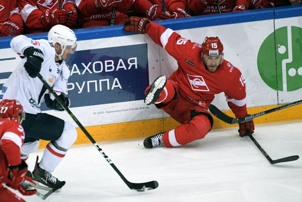Хоккеист Спартака Мартиньш Карсумс
