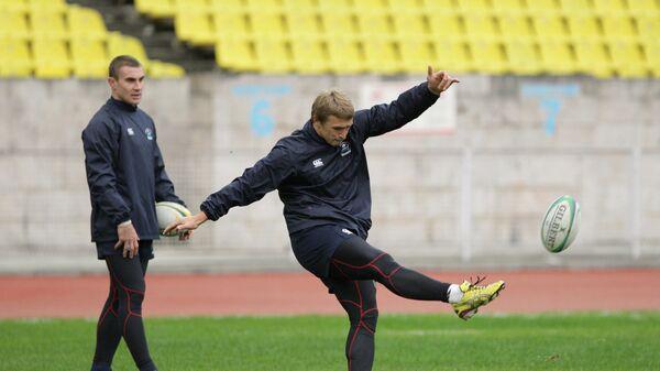 Регби. Тренировка сборной России