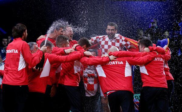 Теннисисты сборной Хорватии