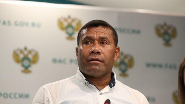Новый главный тренер мужской сборной по регби-7 Вайсале Сереви
