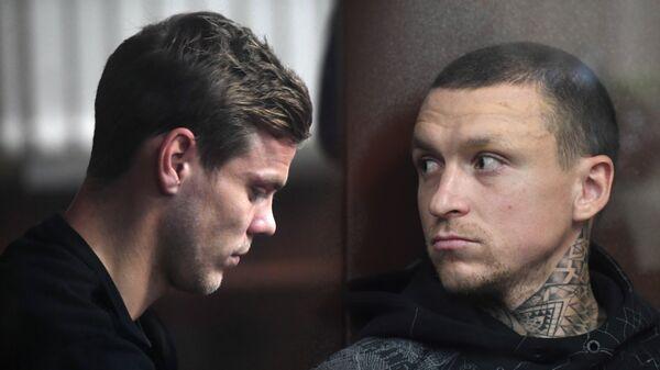 Александр Кокорин и Павел Мамаев. Коллаж