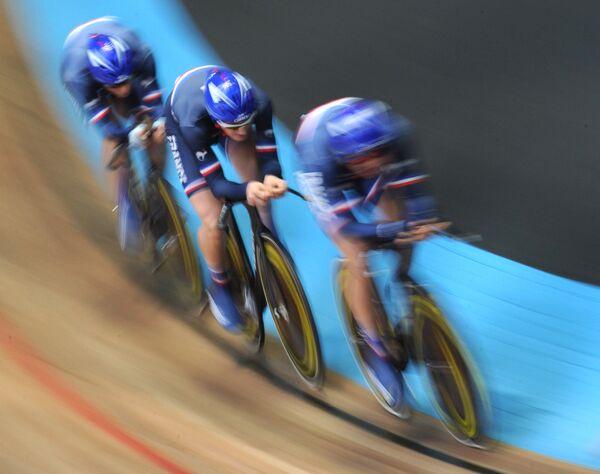 Велоспорт. Чемпионат мира среди юниоров на треке