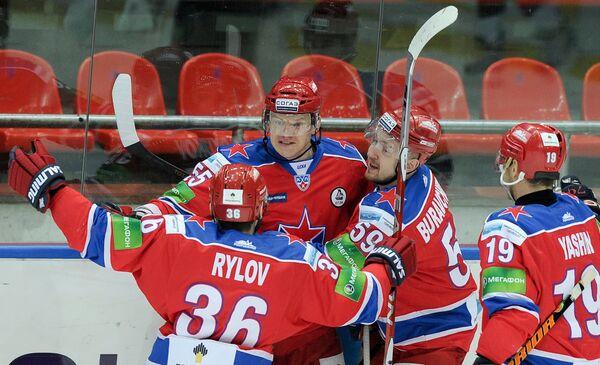 Хоккеисты ЦСКА