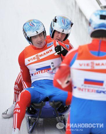 Альберт Демченко, Владислав Южаков, Владимир Махнутин (слева направо)