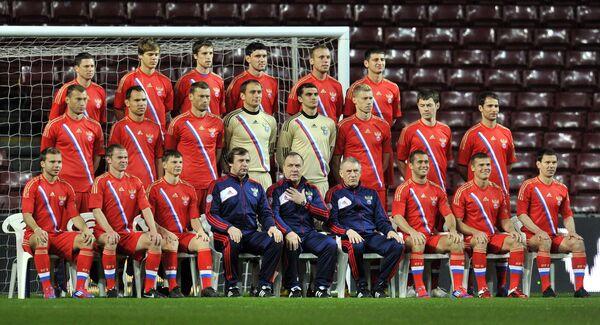 Cборная России по футболу