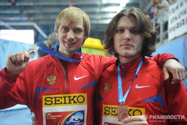 Андрей Сильнов и Иван Ухов (слева направо)