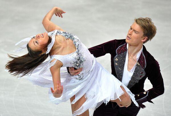 Российские фигуристы Екатерина Рязанова и Илья Ткаченко