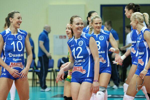Волейболистки казанского Динамо