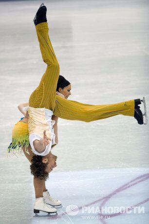 Фигурное катание. ЧМ-2012. Танцы. Короткая программа