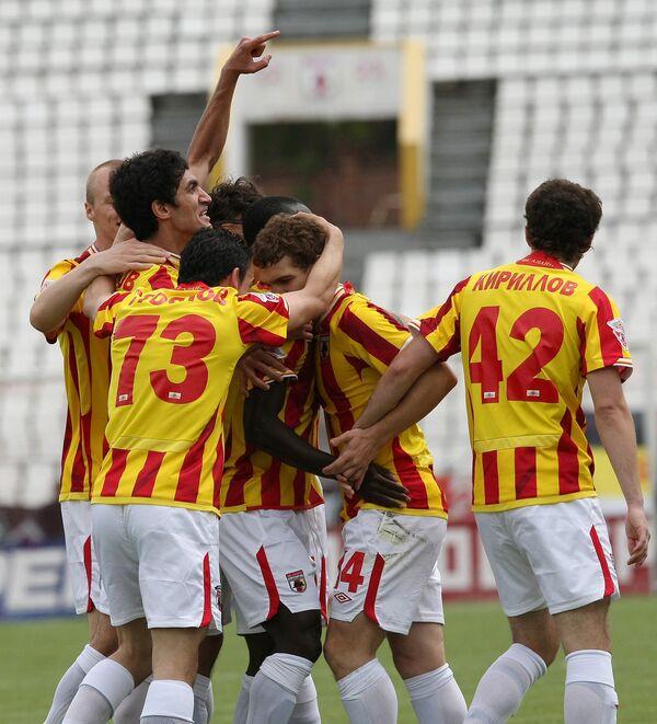 ФК Алания вышел в раунд плей-офф Лиги Европы, одолев Актобе