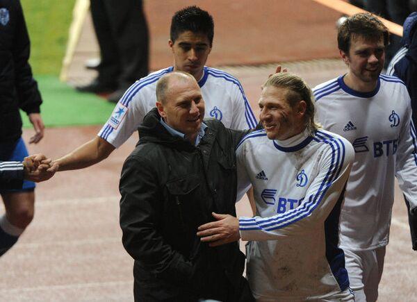 Дмитрий Черышев и Андрей Воронин (слева направо)