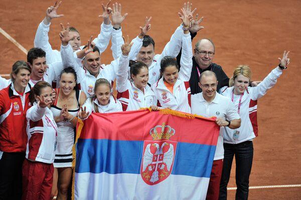 Теннисистки сборной Сербии