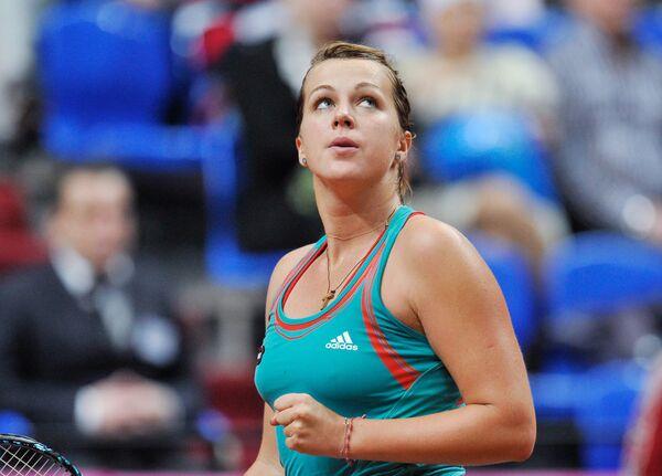 Российская теннисистка Анастасия Павлюченкова