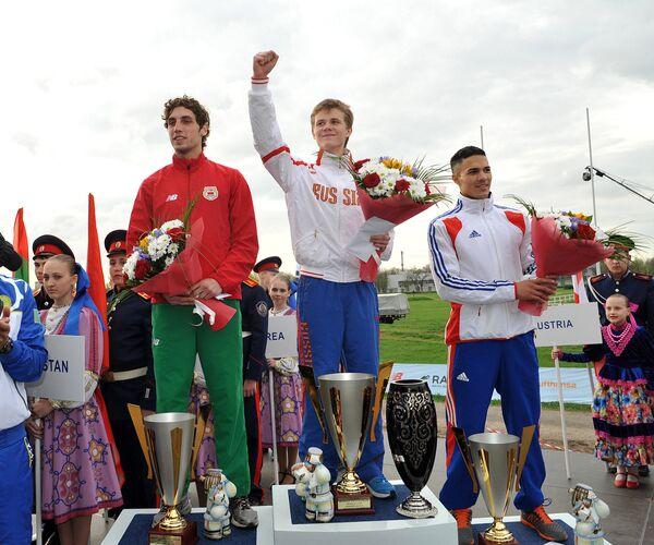 Станислав Журавлев, Илья Шугаров и Кристофер Патте (слева направо)