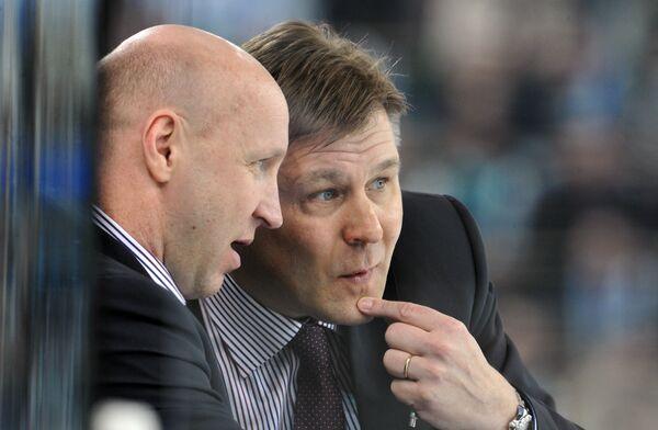 Эдуард Занковец и Раймо Сумманен (слева направо)