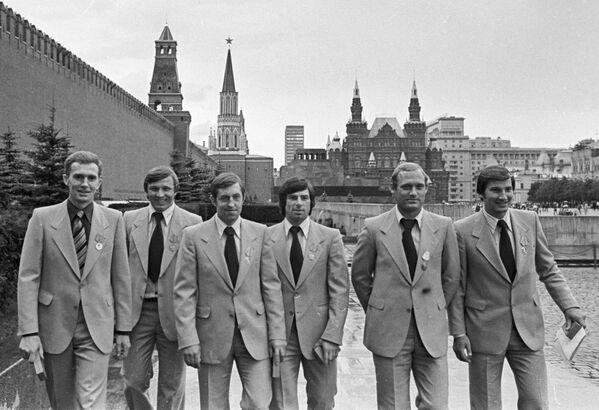 Хоккеисты сборной СССР