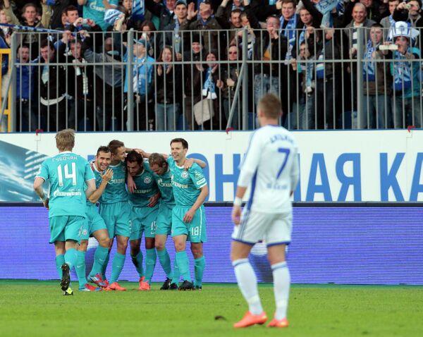 Футболисты Зенита (Санкт-Петербург)