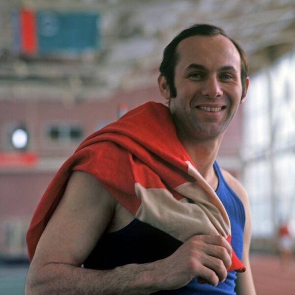 Олимпийский чемпион Валерий Брумель