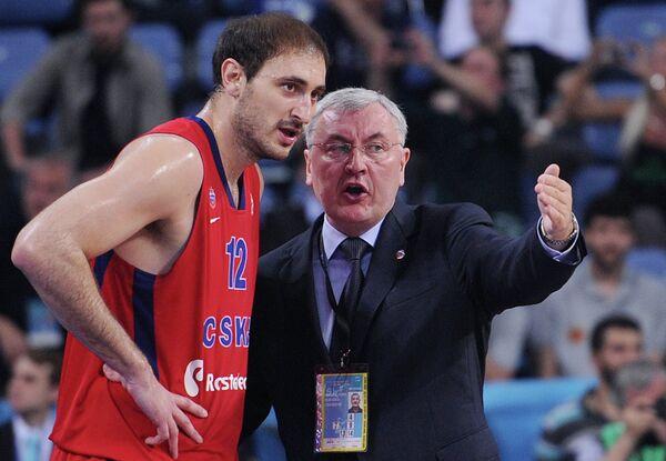 Ненад Крстич и Йонас Казлаускас (слева направо)