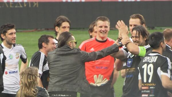 Самые яркие моменты прощального матча футболиста Евсеева