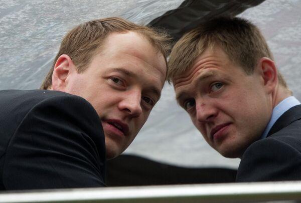 Илья Никулин и Алексей Терещенко (слева направо)