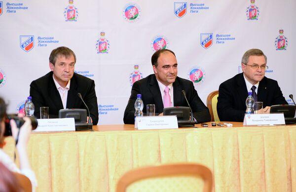 Андрей Пятнов, Герман Скоропупов, Владимир Шалаев (слева направо)