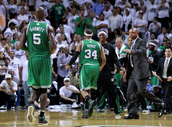 Баскетболисты Бостона