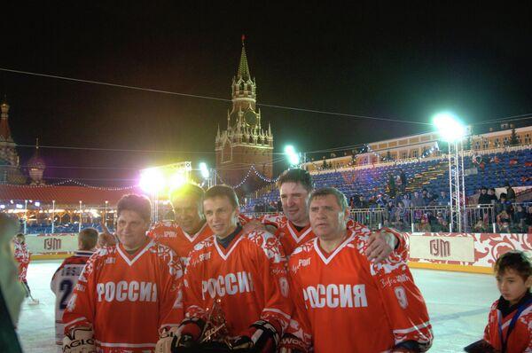 С.Ларионов, В.Фетисов, И.Ларионов, А.Касатонов и В.Крутов