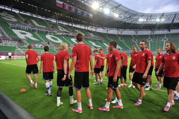 Игроки сборной команды Чехии
