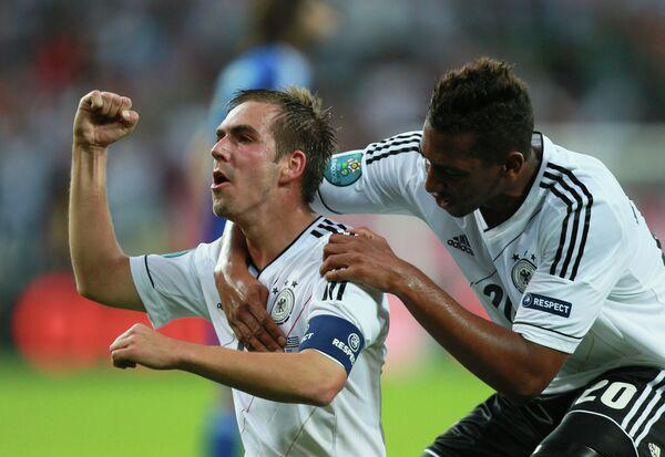 Игрок сборной Германии Филипп Лам