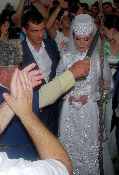 Владимир Габулов и Зарема Абаева