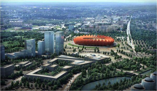 Стадион Саранск
