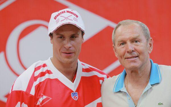 Никита Щитов (слева) и Вячеслав Старшинов