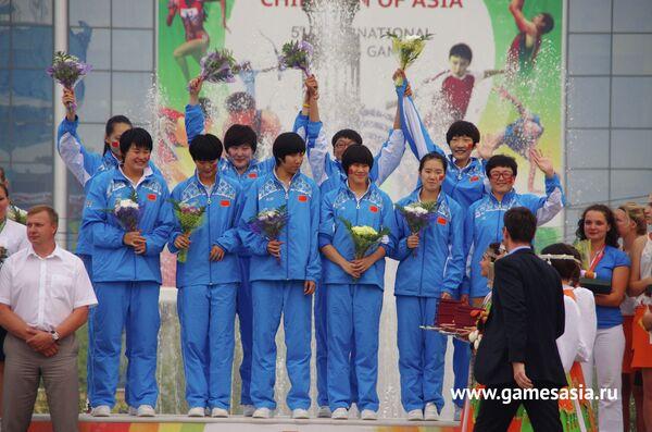 Китайские баскетболистки