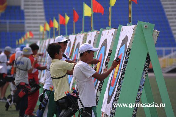 Соревнования по стрельбе из лука на V МСИ Дети Азии