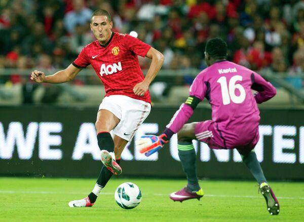 Игровой моментматча Манчестер Юнайтед - Амазулу
