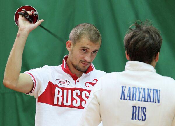Александр Лесун (слева)