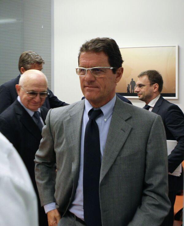 Пресс-конференция Фабио Капелло
