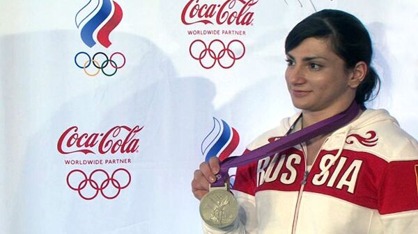 Штангистка Царукаева о том, как преодолела боль и взяла серебро в Лондоне
