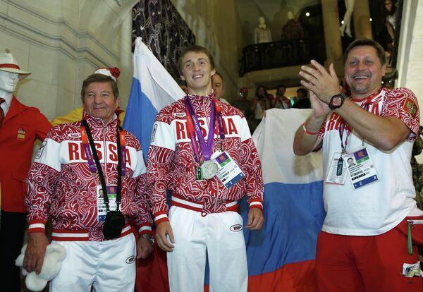 Николай Макаров, Дмитрий Ушаков и Гедиминас Таранда (слева направо)