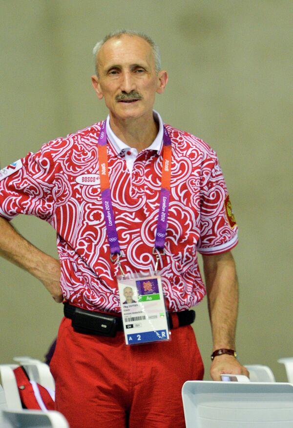 Главный тренер сборной России по прыжкам в воду Олег Зайцев