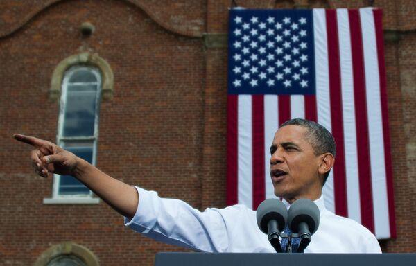 Обама лидирует в президентской гонке в США с большим отрывом – опрос