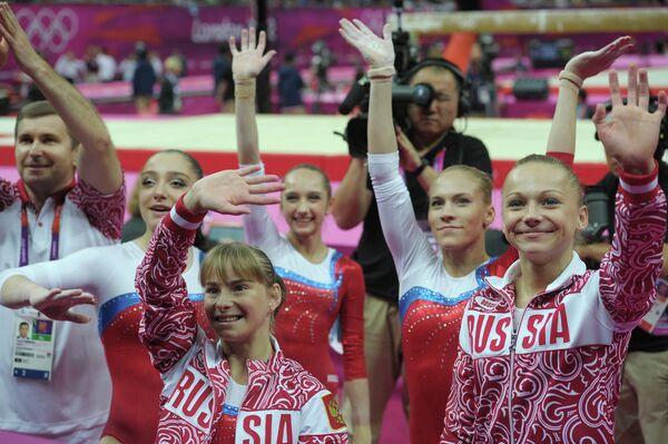 ОИ - 2012. Спортивная гимнастика. Женщины. Квалификация