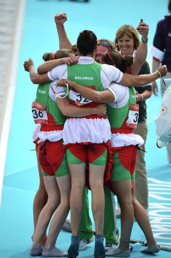 Байдарочницы сборной Белоруссии
