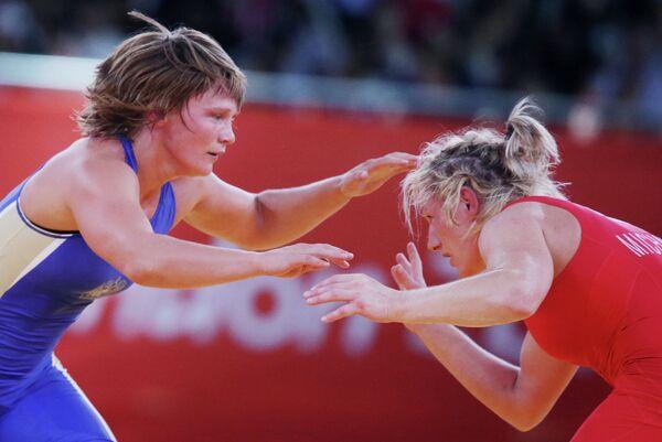 Любовь Волосова (слева) и Моника Эва Михалик