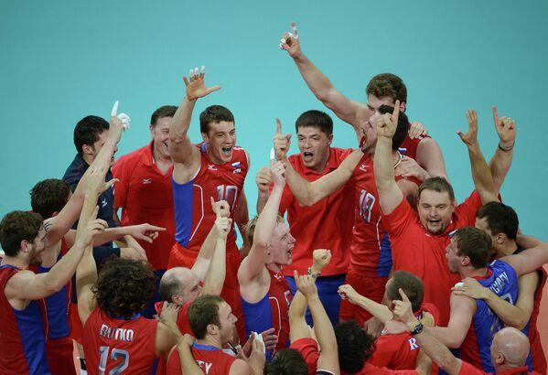 ОИ - 2012. Волейбол. Матч Россия – Бразилия